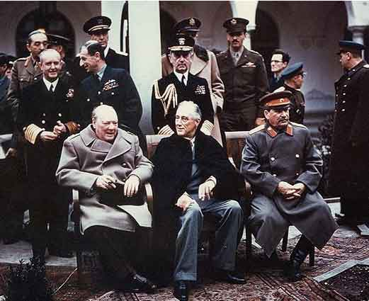 Fdr And The Yalta Conference