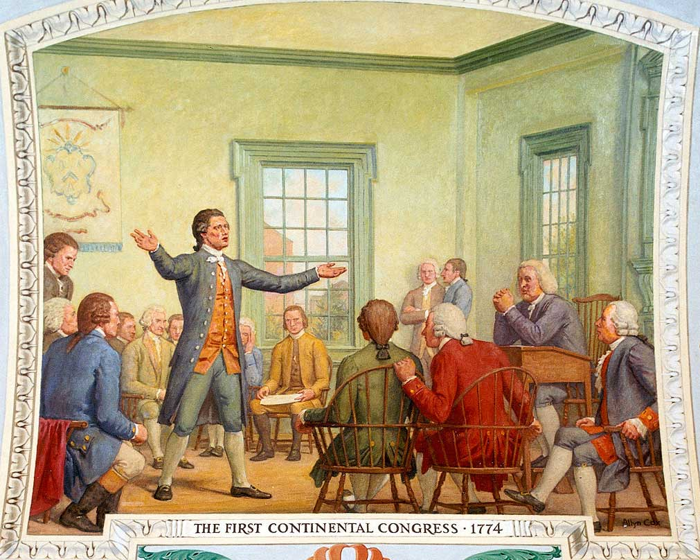 a history of the second continental congress Mr president: tho' i am truly sensible of the high honour done me in this appointment, yet i feel great distress from a consciousness that my abilities and.