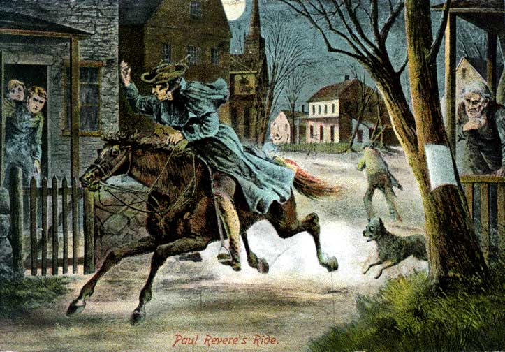 Image result for Paul Revere