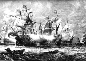 a history of the establishment of the first english colonies in the new world The french colonization of the americas began in the  the french first came to the new world as  atlantic world history of canada former colonies and.