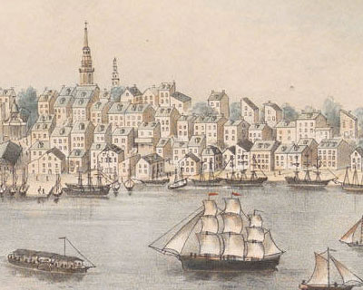 An overview of life in the colonial cities in early america