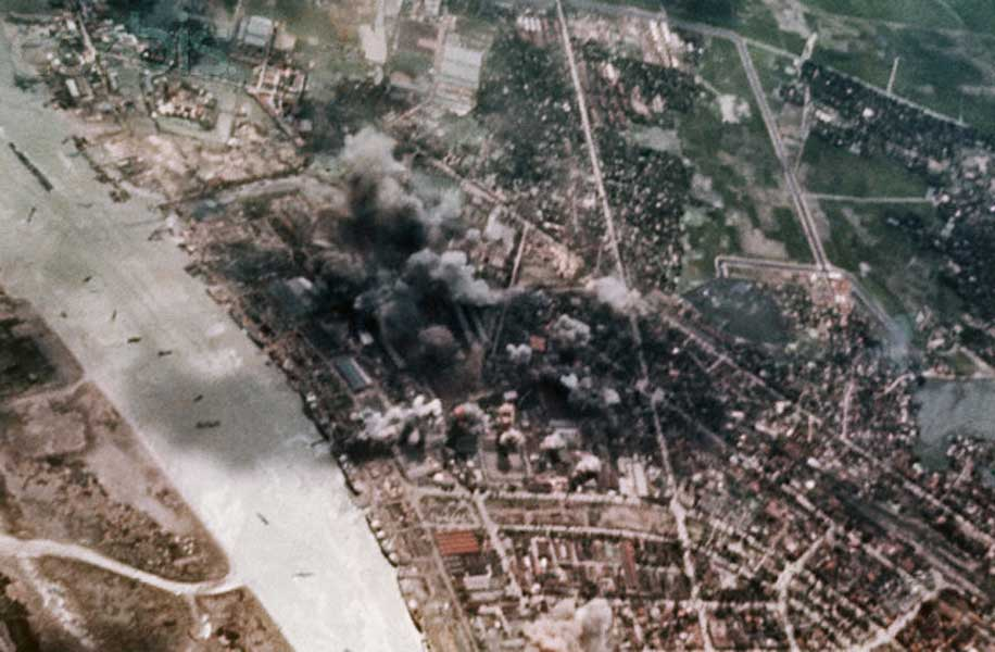 First Bombing Of Haiphong