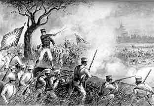 Japanese Invade Taiwan