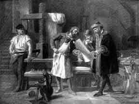 the invention and development of the printing press This was vital for the development of medicine the invention of the printing press  allowed new ideas to spread more quickly around europe the discovery of.