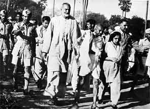 why is gandhi a leader