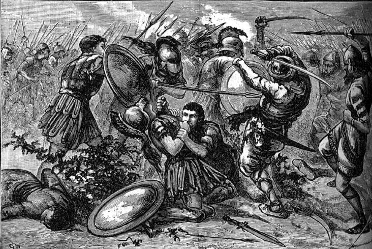 a history of the battle between the persian empire and the greeks