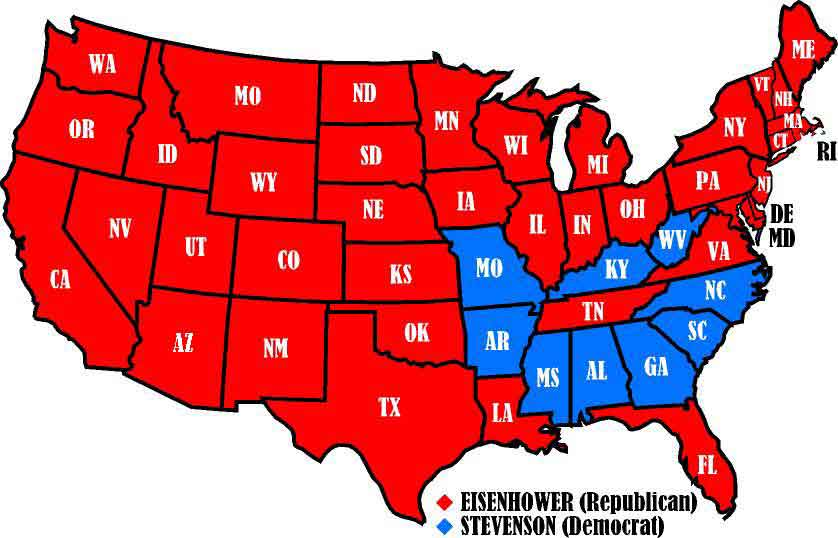 United States presidential election of 1956