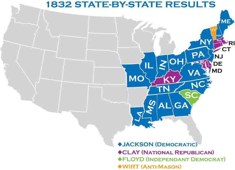1832 Presidential Elections