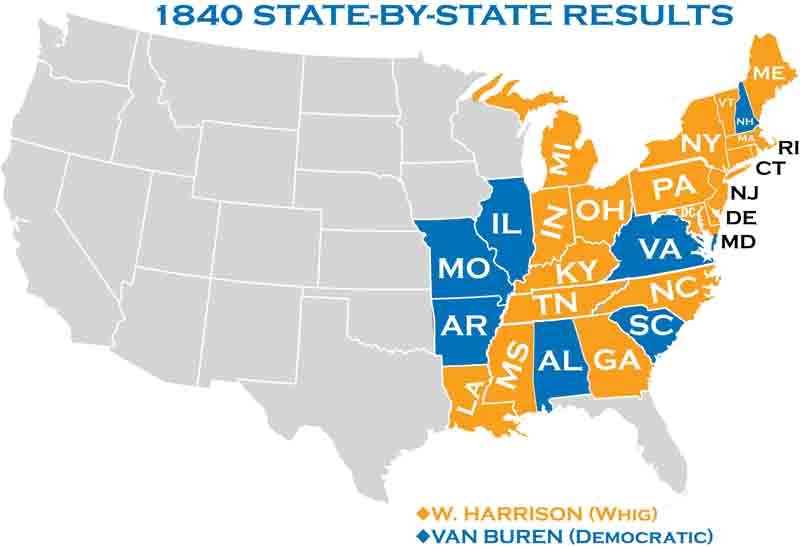 1840 Presidential Elections