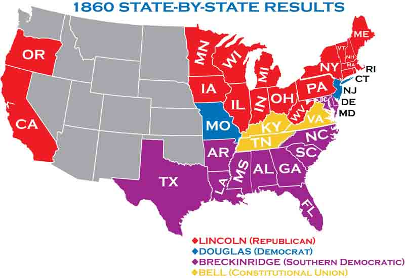 1860 Presidential Elections