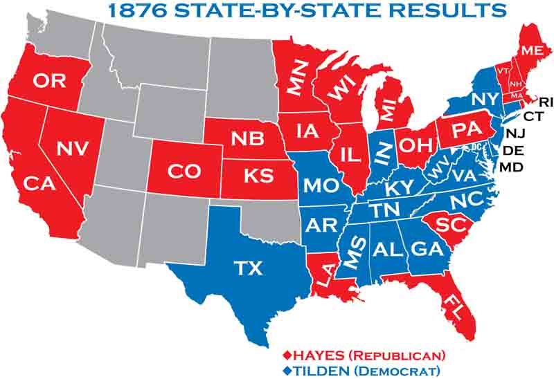 1876 Presidential Elections