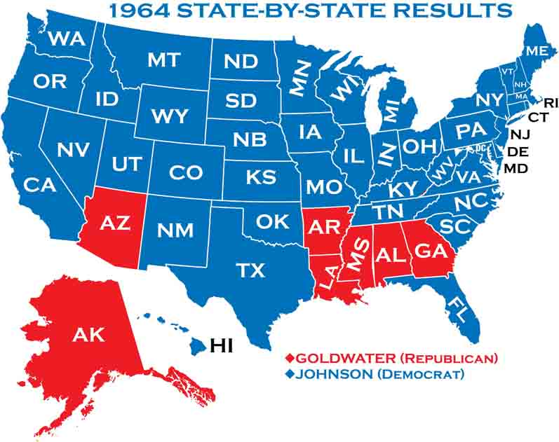 1964 Presidential Elections
