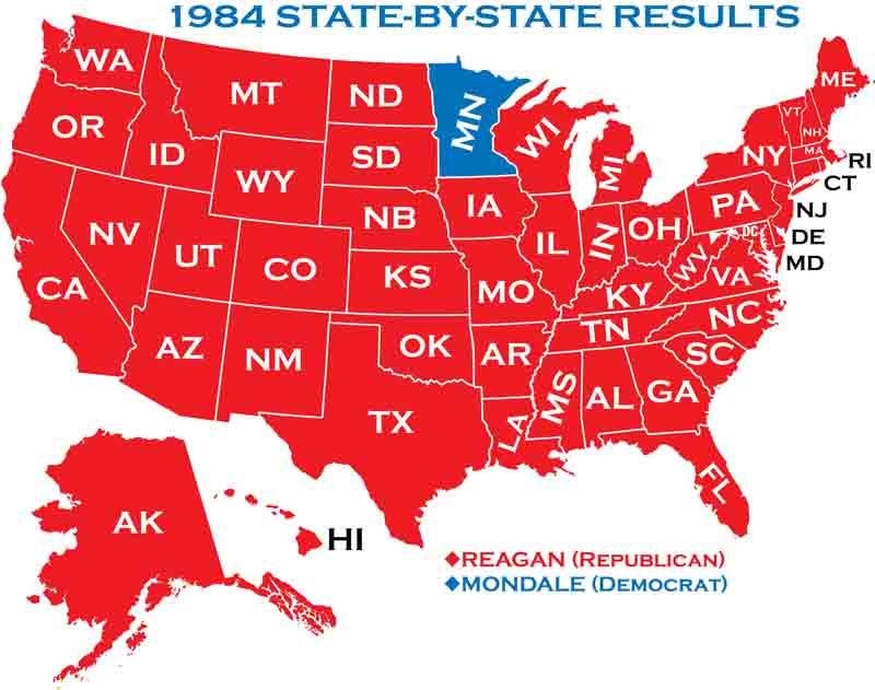 State Results In 1984