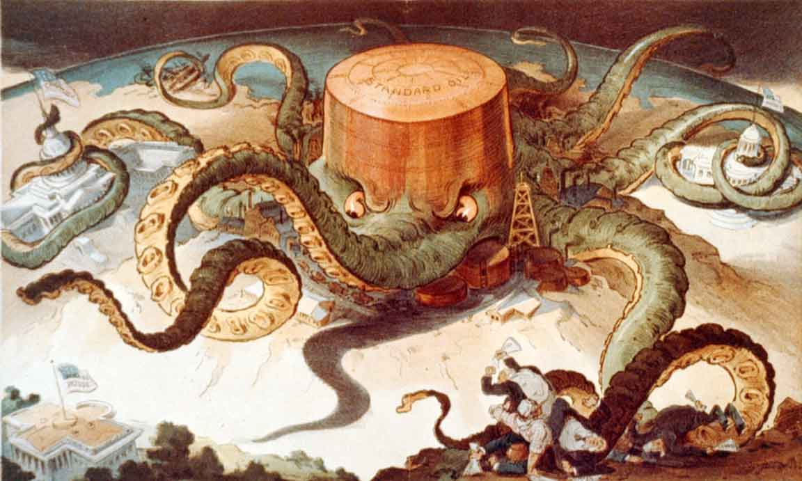 Standard Oil Founded