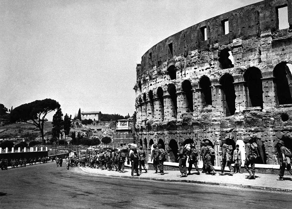 June 1944 Rome Captured By Allies